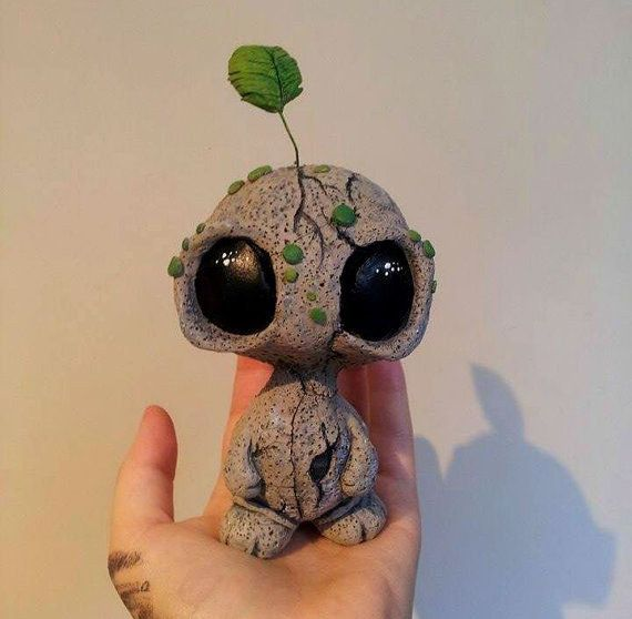 12 Artists Who S Sculptures You Will Fall In Love With Sculpture Clay Polymer Clay Crafts Cute Clay