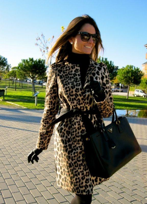 леопардовое пальто 2013 7