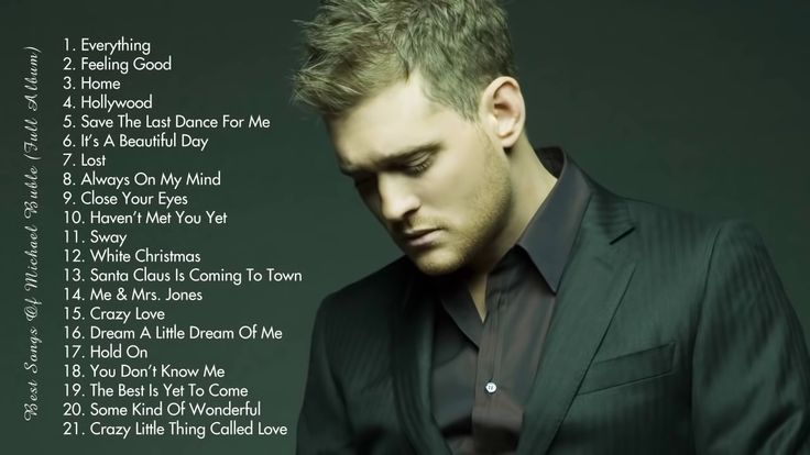 Michael Buble Greatest Hits - Best Songs of Michael Bublé