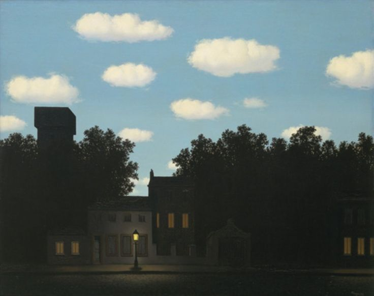 #CommemBirthAnniv to #ReneMagritte 21Nov1898 Belgian surrealist #pop #minimalist #conceptualart The Empire of Light 1950-1954 @MuseumModernArt
