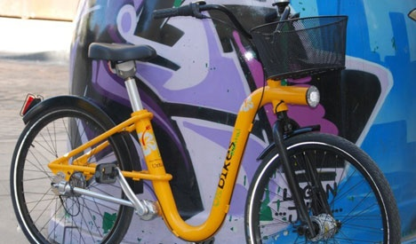 Exclusive Preview: Urbikes Trapper, the First Intelligent Electric Public Bicycle Sharing Systems : TreeHugger