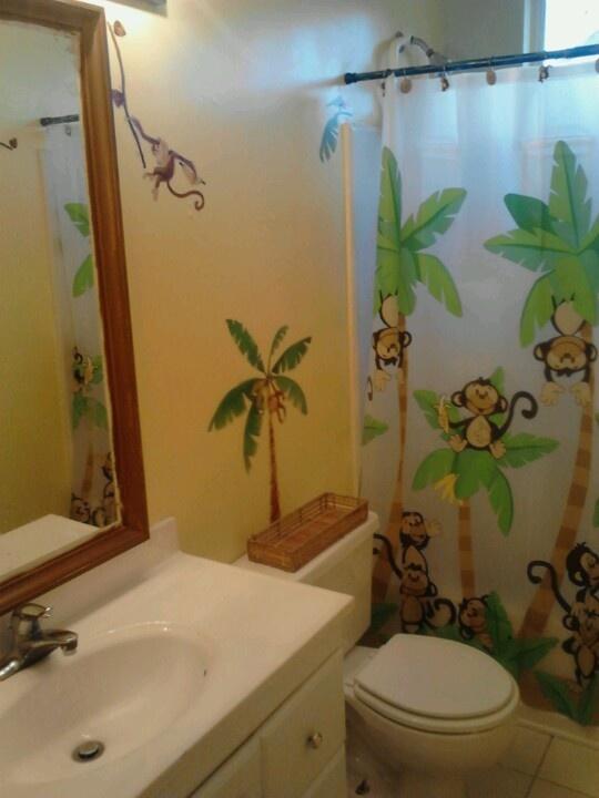 The Kids Monkey Bathroom!