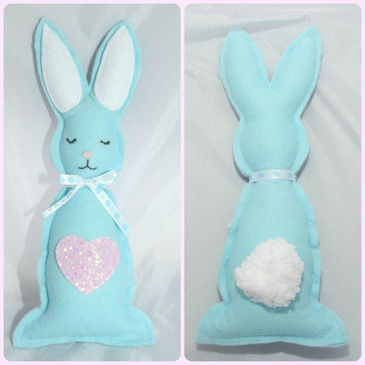 Felt Easter Bunny - The Supermums Craft Fair