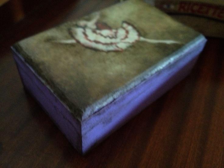 Wood box Balarina