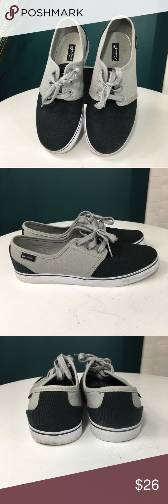 Men's Circa Crip Style Sneakers Black and gray size 8 sneakers in good preloved condition. Circa Shoes Sneakers