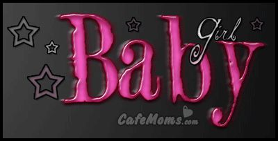 Pink Baby Girl Stars Graphic plus many other high quality Graphics for your Facebook profile at CafeMoms.com.