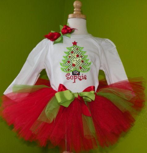 christmas outfits for girls   Girls Christmas Holiday Clothing : Christmas Tutus : Baby Christmas ...