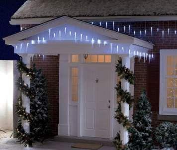 Solar Christmas lights - $40 at Target