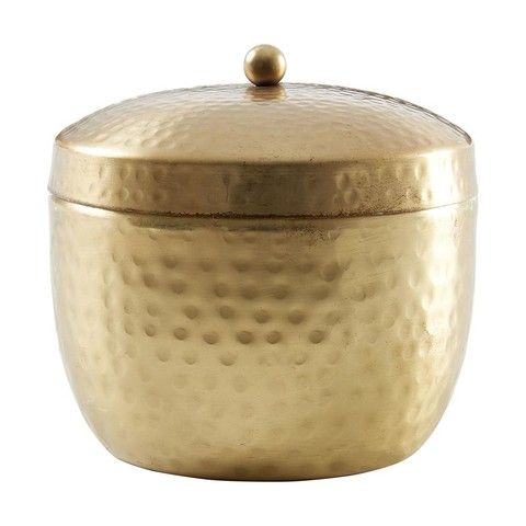 Citronella Candle in Brass Pot   Kmart