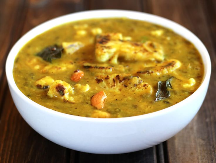 Cauliflower Dal is a healthy and nutritious, spicy and flavorful recipe that will be loved by people of all age group. This recipe is vegan and gluten free.