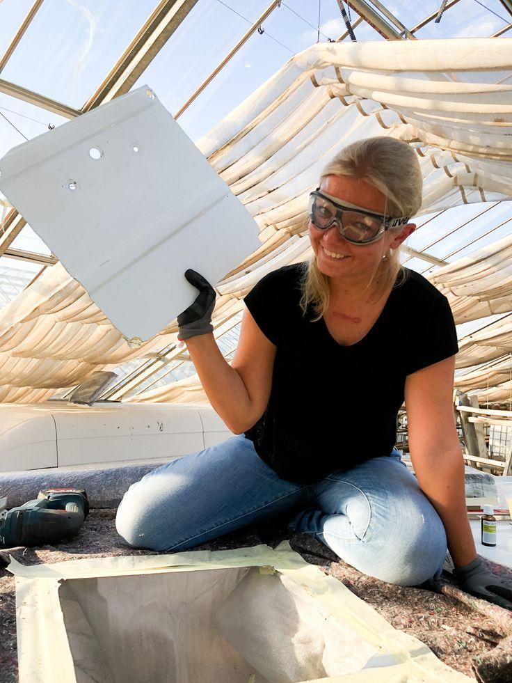 Camper Umbau Teil 5 Dachluke und Fenster einbauen