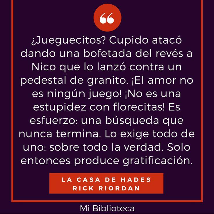 La Casa de Hades - Rick Riordan #Quote #PercyJackson