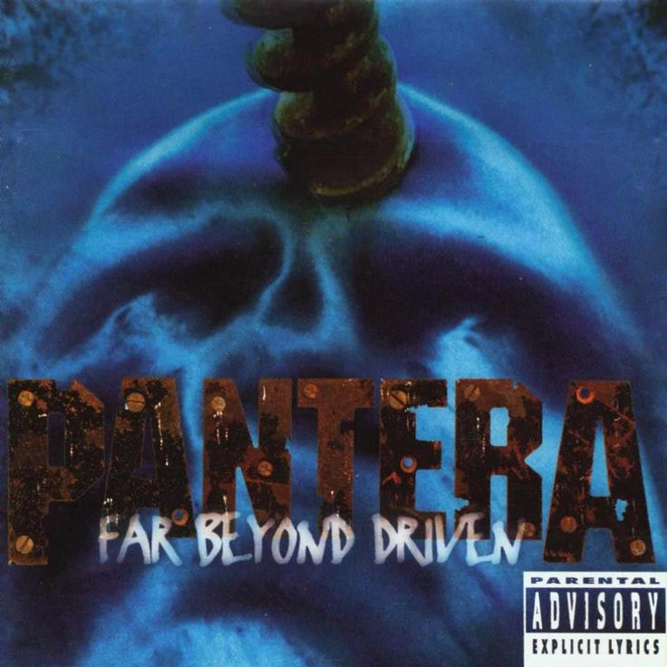 Pantera - Far Beyond Driven (Censored Cover), Art Direction by Richard Bates