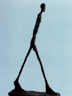 Giacometti. I find the simplified, elongated, stick-like fragility of Giacometti's sculptures very expressive.
