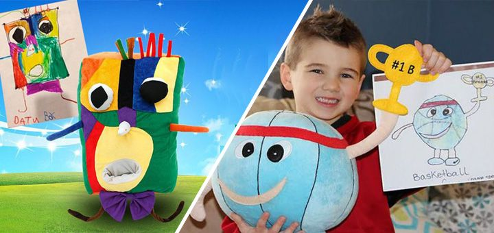 Taky jste chtěli přesně tu hračku, kterou jste si jako děti namalovali? Dnes je to možné!