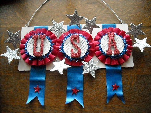 large 4th of july bunting