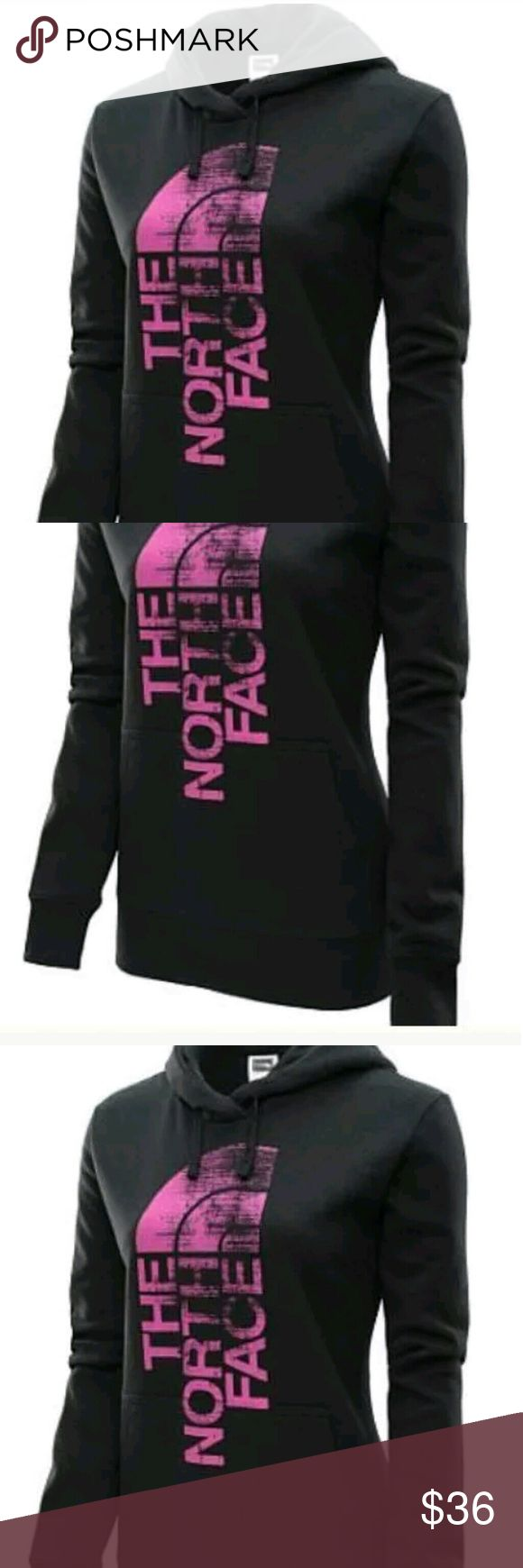 The North Face Women's? Pullover Hoodie The North Face Women's? Pullover Hoodie  Size : xs petite  Product Details  The North Face? women's? logo pullover hoodie is an exceptionally warm layering piece for your next chilly-weather workout. It's crafted with super-soft cotton fabric that delivers total comfort, while the welt kangaroo pocket has more than enough space for your essentials  No Trade North Face Tops Sweatshirts & Hoodies