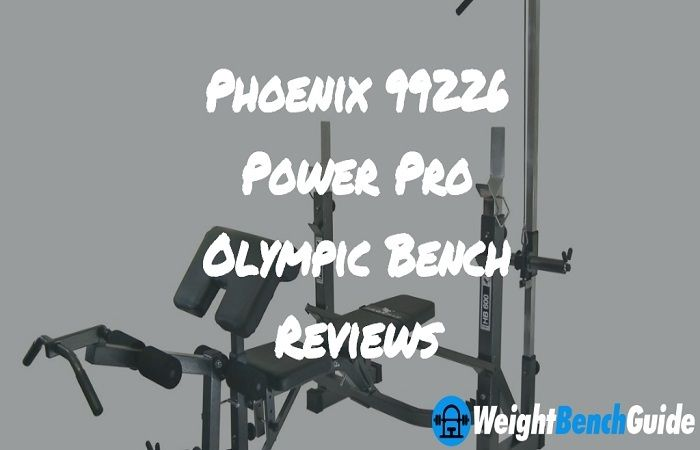 Phoenix 99226 Power Pro Olympic Bench Best Weight Bench For Home