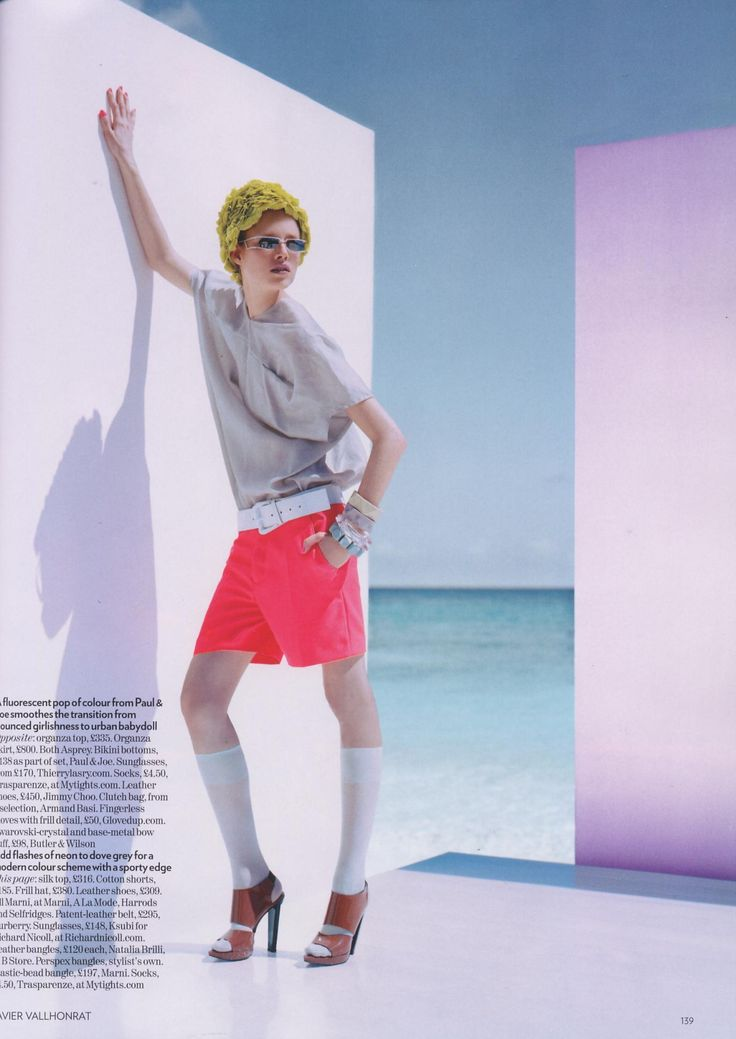 Suvi Koponen | Photography by Javier Vallhonrat | For Vogue Magazine UK | February 2008 (2nd part) See the 1st part here