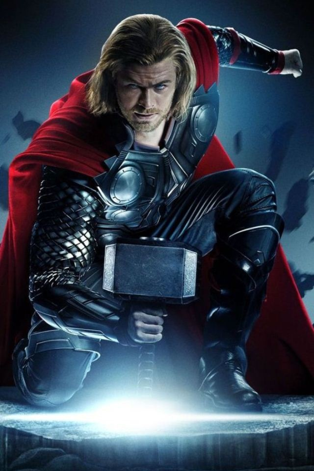 Marvel's Thor iPhone Wallpaper my sci fi favorites