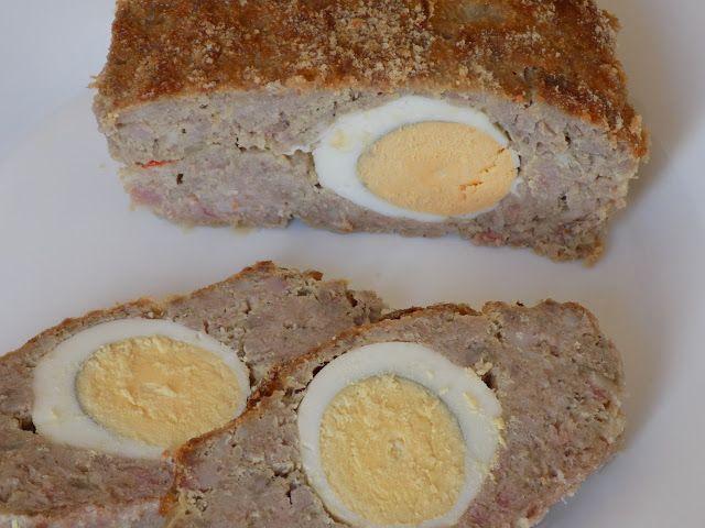 magiczna kuchnia Kasi: Pieczeń rzymska z jajkiem