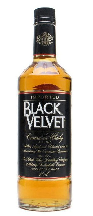 Black Velvet Blended Canadian Whisky makes a great Manhattan - 2 parts BV, 1 part sweet vermouth, dash or two of bitters, a teaspoon of cherry juice, and two cherries!