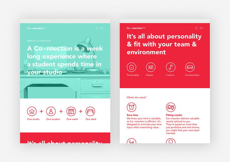 Redefining the internship   Co—nnection on Behance
