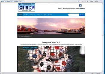 on a desktop - Internet Explorer browser