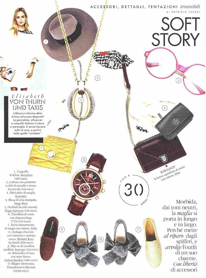 V°73 su Elle di agosto! #bag #bags #accessories #accessory #accessori