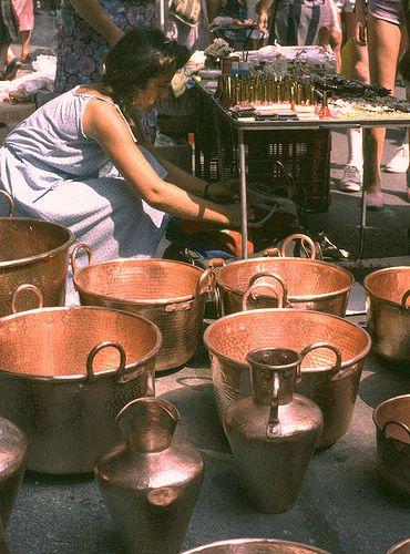 copper pots  #TuscanyAgriturismoGiratola