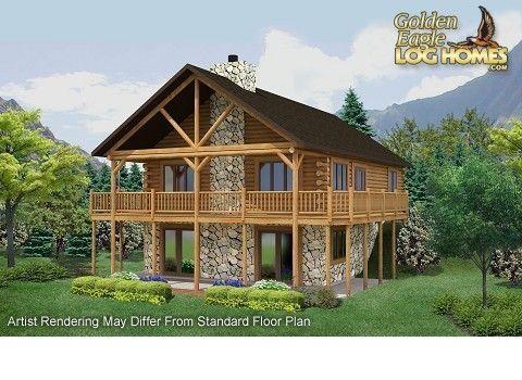 a floor plan by golden eagle log homes golden eagle log homes has 1000