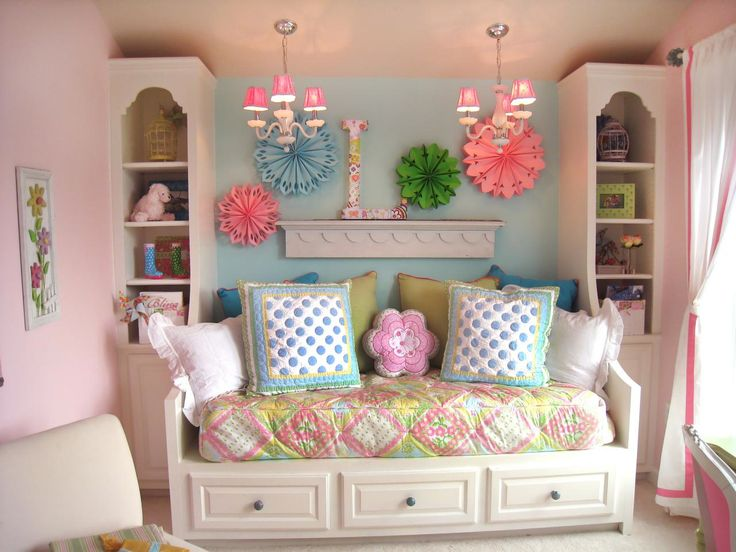 Girls Room Paint, Daybed Ideas For Girls And Girls