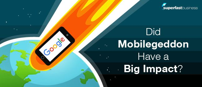 Mobilegeddon was the name given to the big update that Google did around April last year, 2015. It was publicly announced by Google as a big change to their algorithm. What they were looking to do was weight very heavily the performance of websites as they relate to mobile searches. So essentially, if a site wasn't mobile-friendly, they would demote it in the search results.  Find out more here itunes.apple.com/us/podcast/james-schramko-superfast-business/id529116499