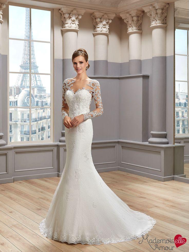 Robe de mariée Mlle Ilris, robe de mariée sirène - Pronuptia