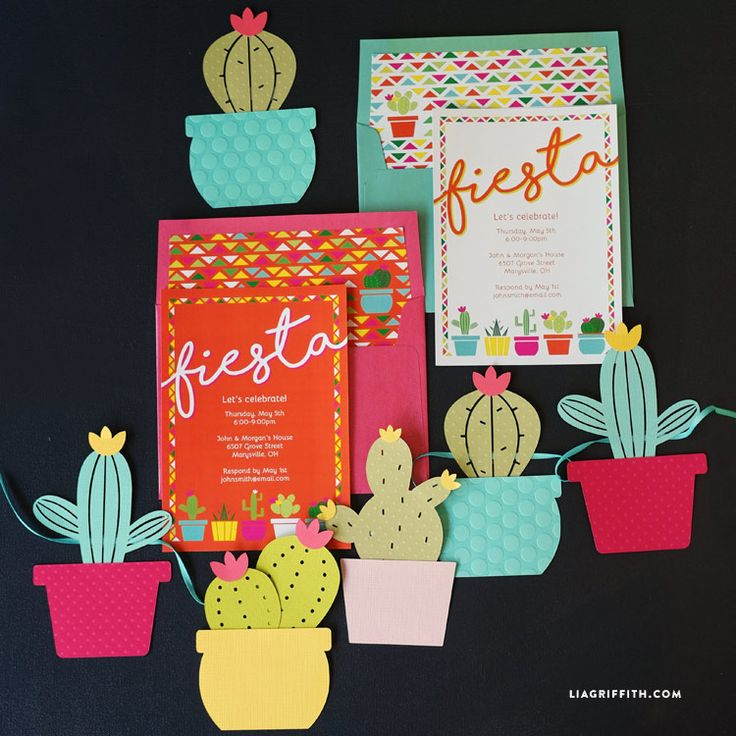 Free PRINTABLES: Cinco de Mayo Fiesta Invitations