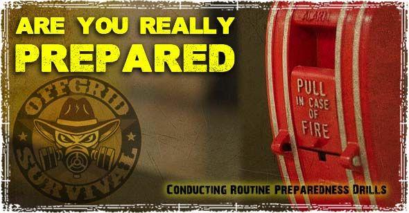 Preparedness Drills: Conducting Routine Emergency Drills & Disaster Training