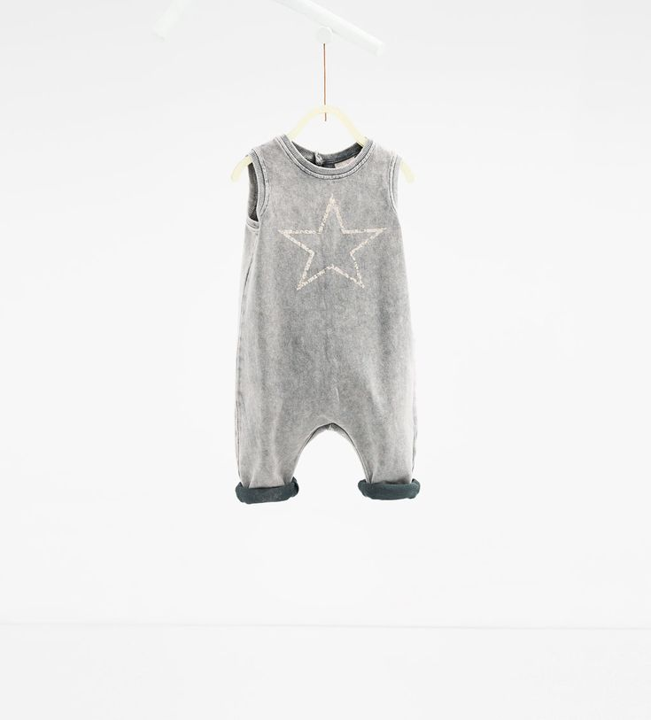 Faded star dungarees-TROUSERS-BABY BOY | 3 months-3 years-KIDS | ZARA United Kingdom
