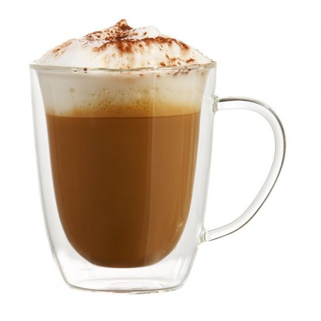 The Trudeau Duetto Double Wall Mug is a great way to keep your hot beverages hot. Double wall construction creates a layer of air to help insulate your drink.