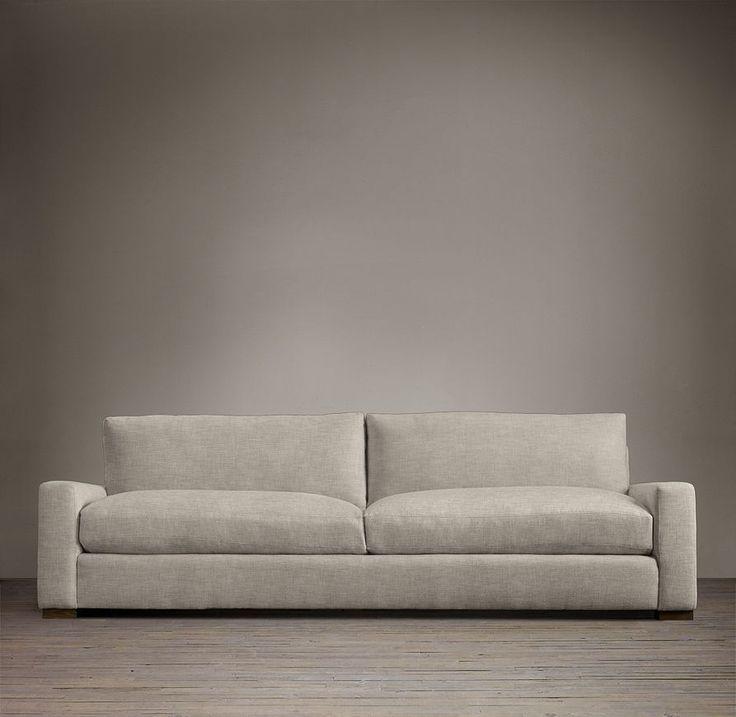 maxwell upholstered sofas sofas restoration hardware