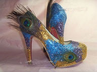 $250.00 stunning swarovski crystal shoes. So many stunning designs. Free worldwide shipping. Lay-by available.