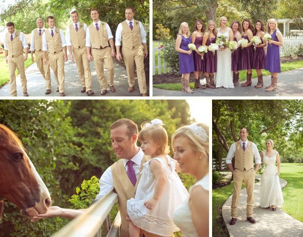 Erin Joes Texas Country Wedding Would Not Have Been Complete Without Some Sweet Boots And