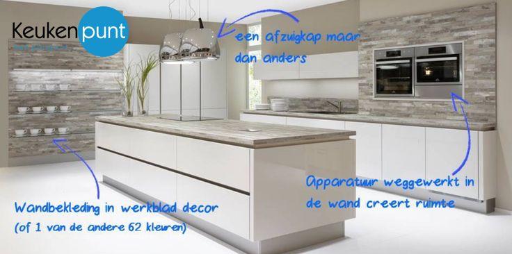 Een modern keukeneiland van Keukenpunt Leeuwarden!