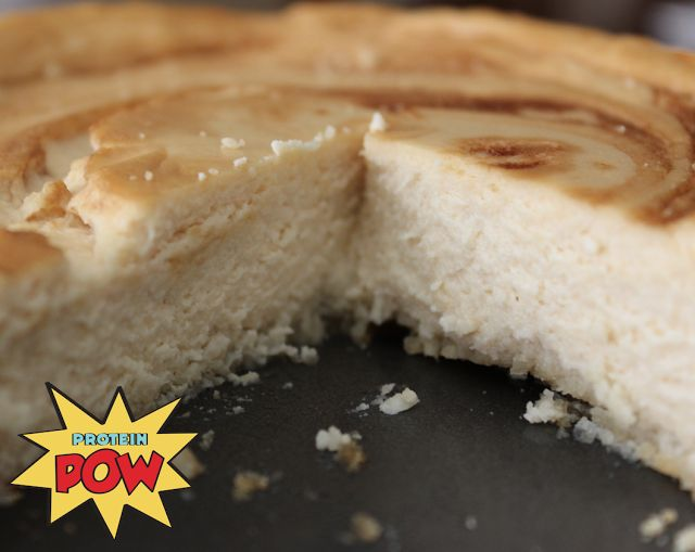 = PROTEIN POW(D)ER !: One of the Best and Easiest Protein Cheesecakes Ever Made