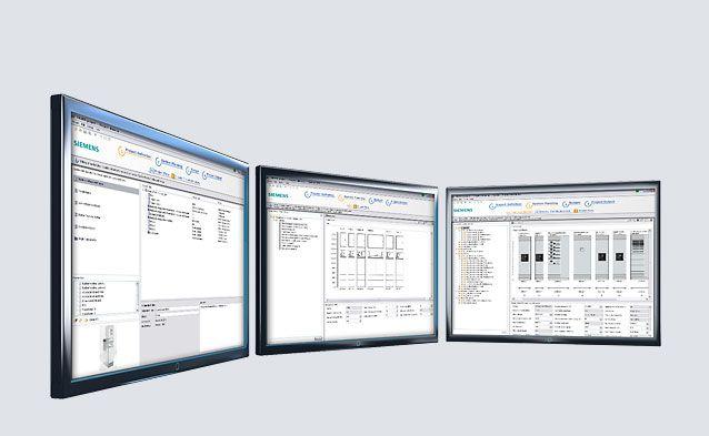 SIMARIS project - Electrical System Design - Single Line Diagram - Power Distribution - Siemens