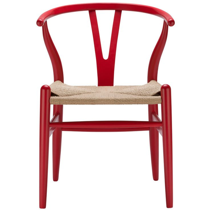 EdgeMod EM-109-RED Weave Chair in Red