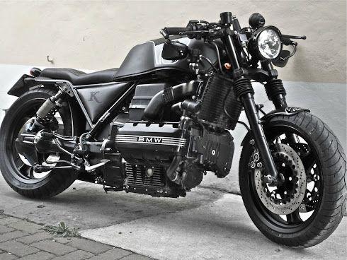 Bmw k100 bobber chemical garage id e moto pinterest bmw garage et cafe racers - Garage moto bmw belgique ...