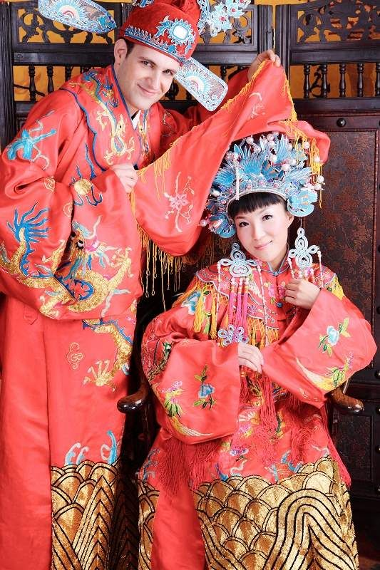 Chinese Traditional Wedding Dress