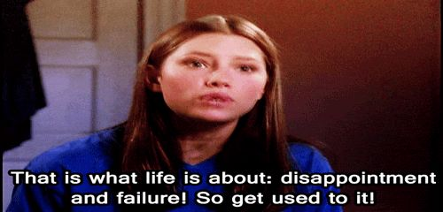New trending #GIF on #Giphy via #IFTTT life lesson jessica biel 7th heaven