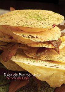 Tuiles de Brie de Melun ou Brie de Meaux