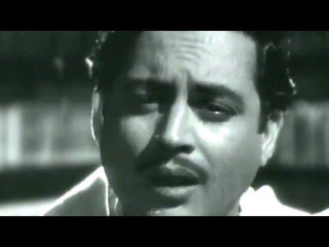 """""""Jaane woh kaise log they jinko"""" classic song #gurudutt #HemantKumar has sung"""